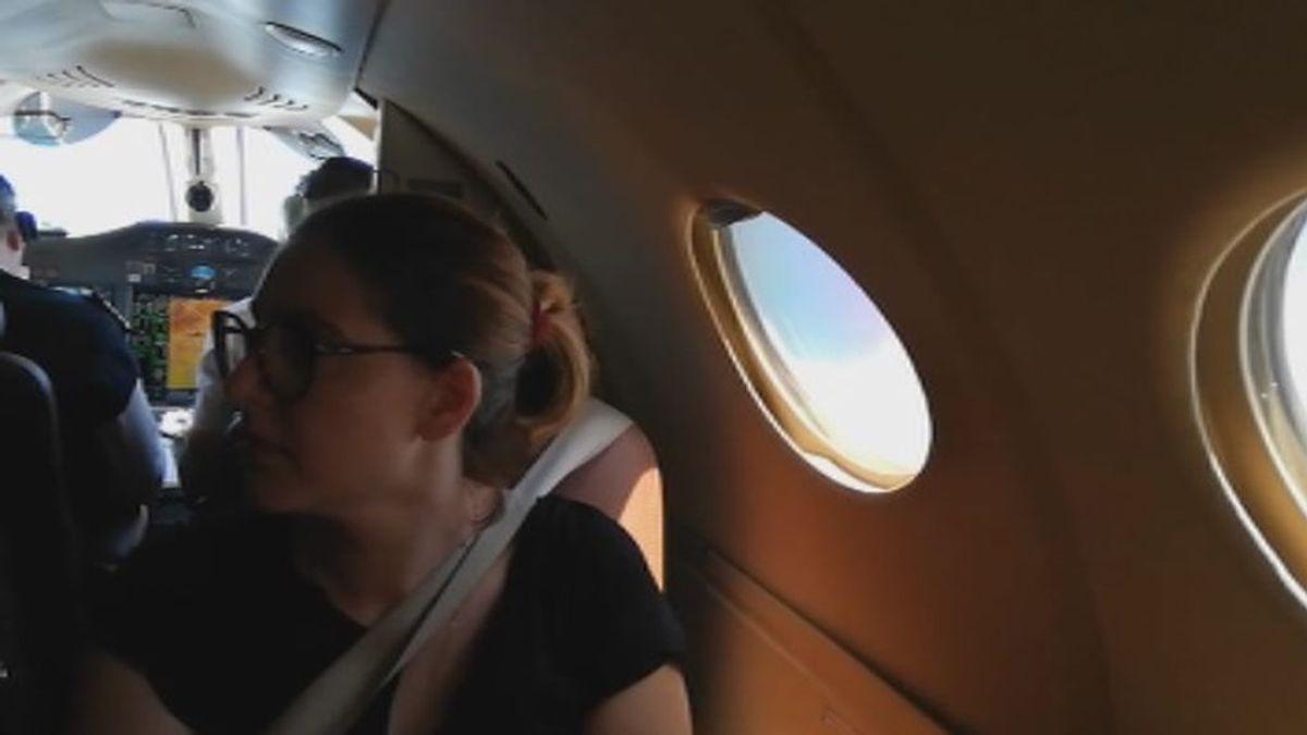 """Una de las enfermeras que fue en jet a opositar: """"Me quedo sin vacaciones para tener otra oportunidad"""""""