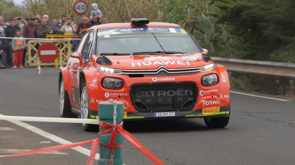 Pepe López dejaba claro desde el principio que aspiraba a todo en el Rally Islas Canarias