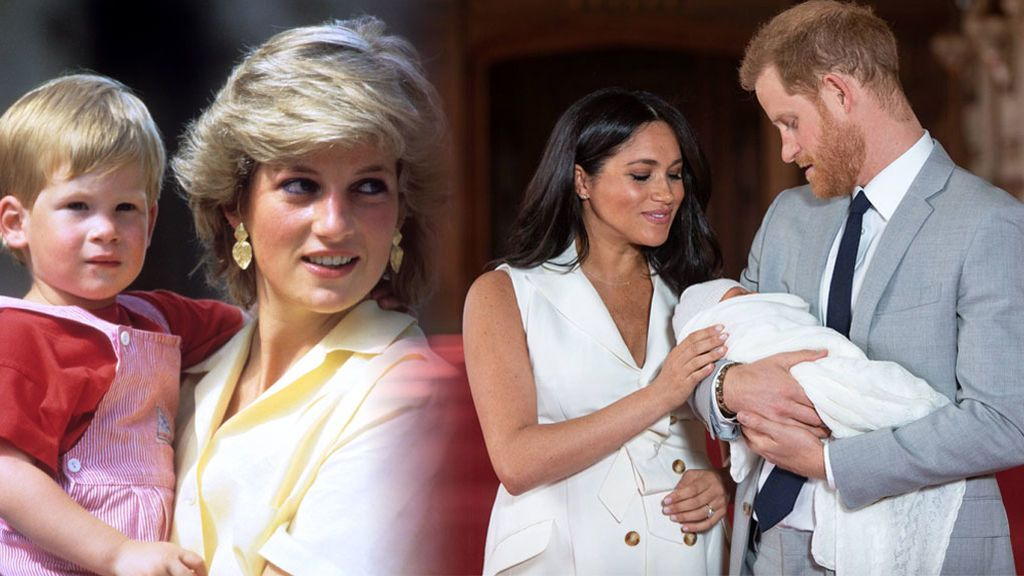 """La foto de Archie con la que los Duques de Sussex han homenajeado a Lady Di: """"A las que se fueron"""""""