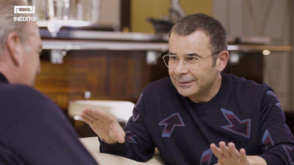 """Jorge Javier, a Bertín: """"Saber que no hay nada seguro en la vida te da mucha tranquilidad"""""""