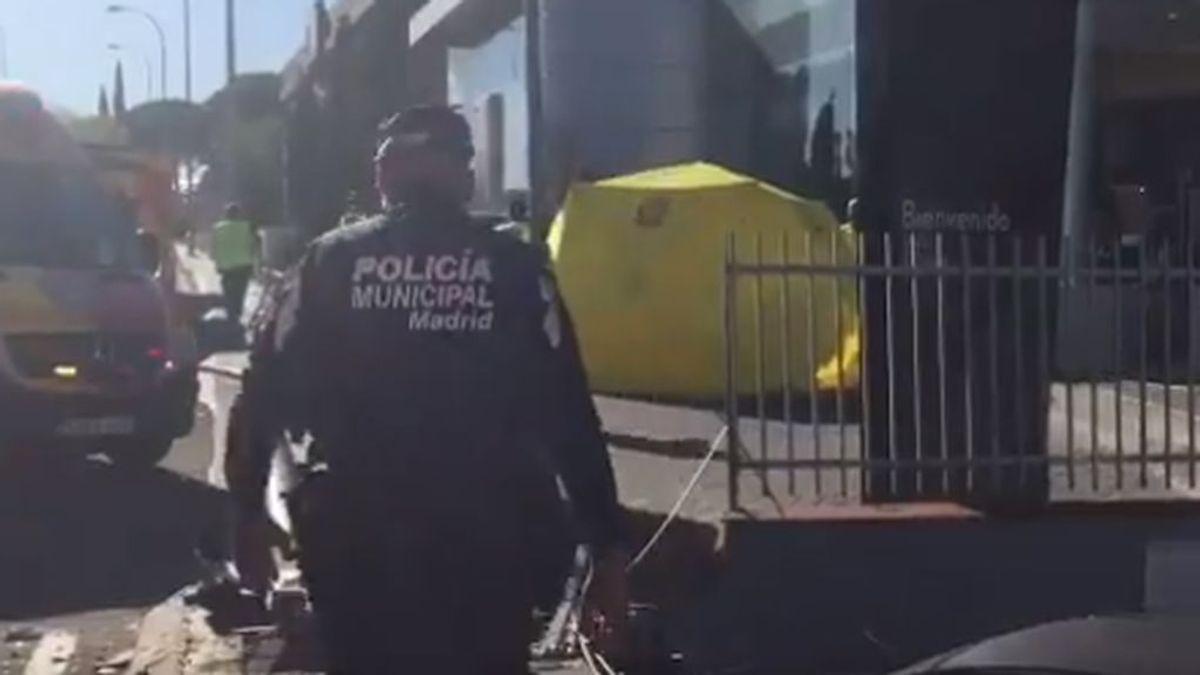 Muere la mujer de 51 años atropellada en la Avenida Victoria de Madrid