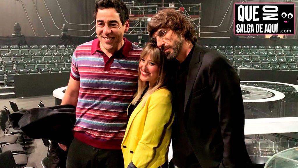 'Adivina qué hacen' Santi Millán, Pablo Chiapella y la ganadora cuando nadie les ve