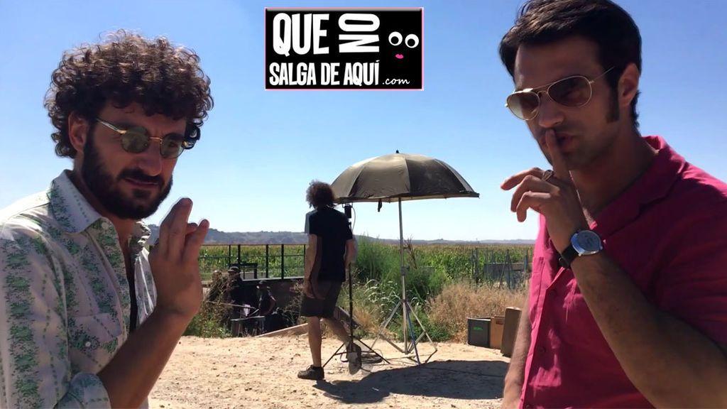Jesús Castro y Miki Esparbé nos cuentan in situ qué fue lo más duro de rodar 'Brigada Costa del Sol'