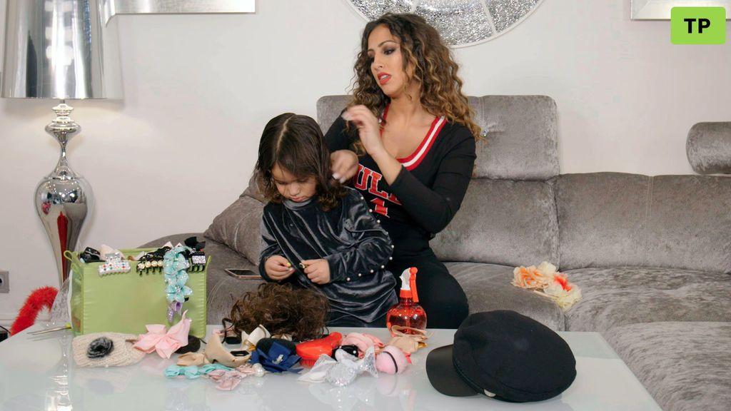 Los trucos de Noemí para conseguir un peinado perfecto de fiesta para niñas