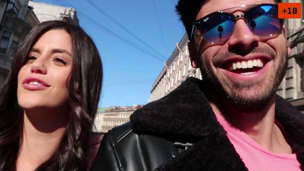 'Canariones por el mundo': Noel viaja con Lola a San Petersburgo y se atreve a ligar en ruso (1/2)