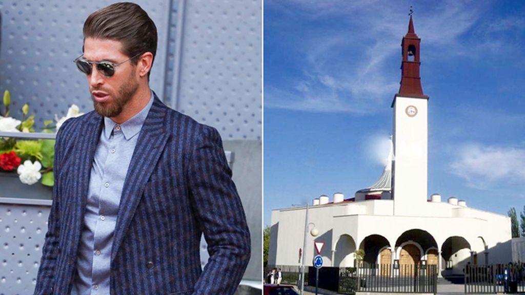 Los últimos preparativos de Sergio Ramos ante su boda con Pilar Rubio en Sevilla: Se bautiza en secreto en la Moraleja