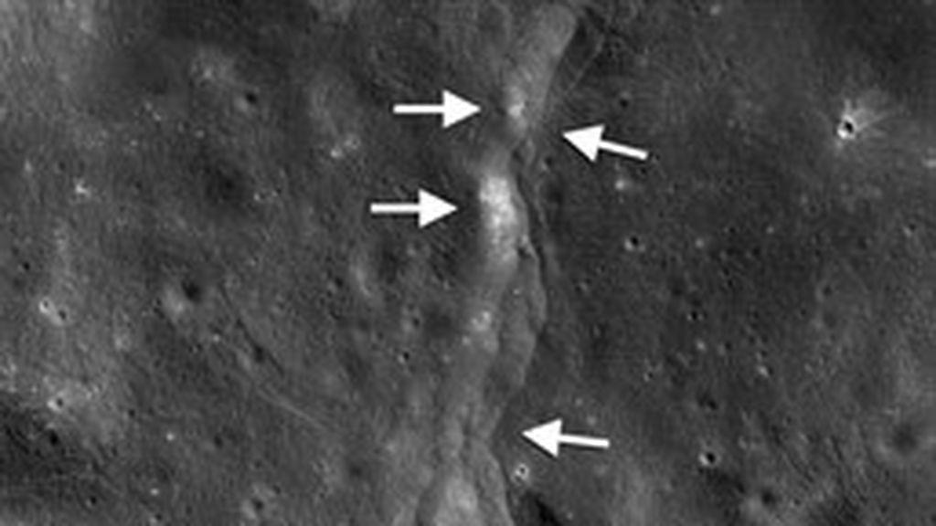 La Luna tiembla mientras se encoge, hay sismos por placas tectónicas activas fuera de la Tierra