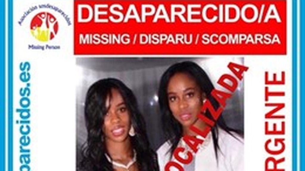 """Hallan """"traumatizada"""" a una joven desaparecida y buscan a su hermana en Madrid"""