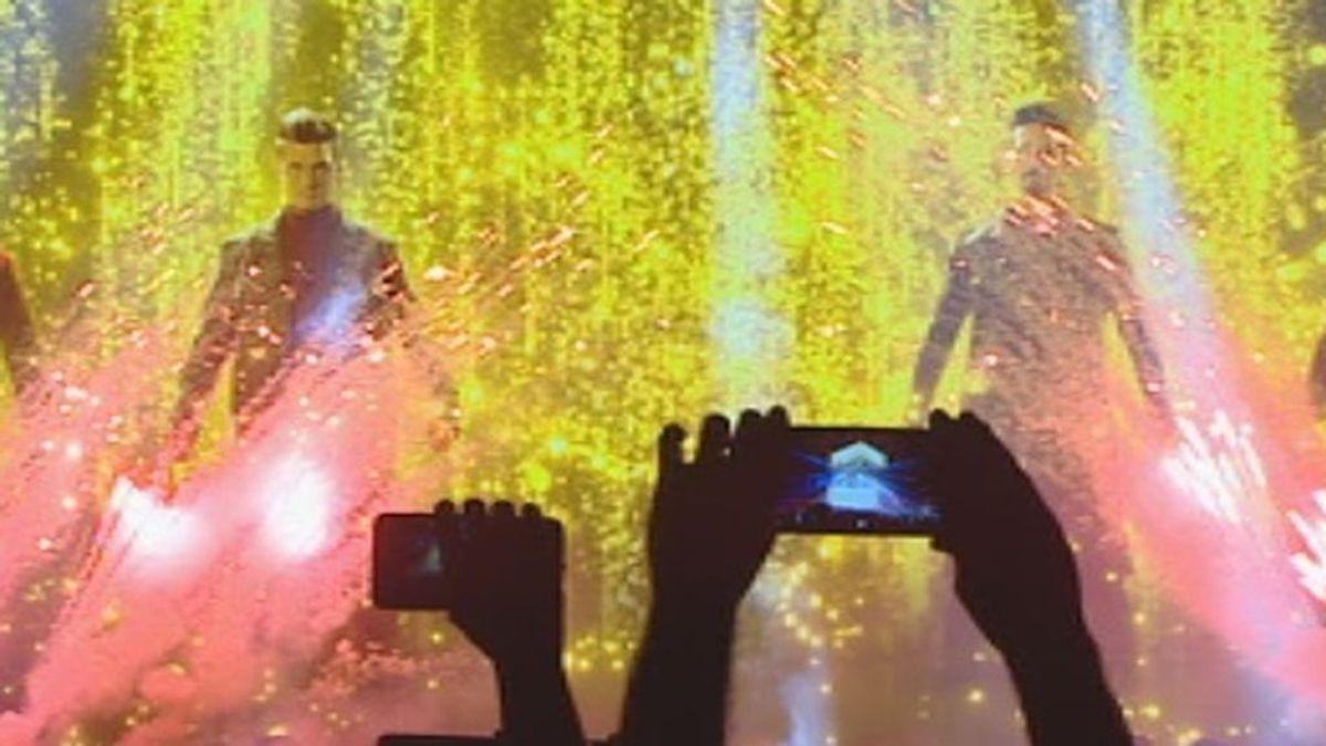 Los Backstreet Boys hacen temblar el Wizink Center en Madrid