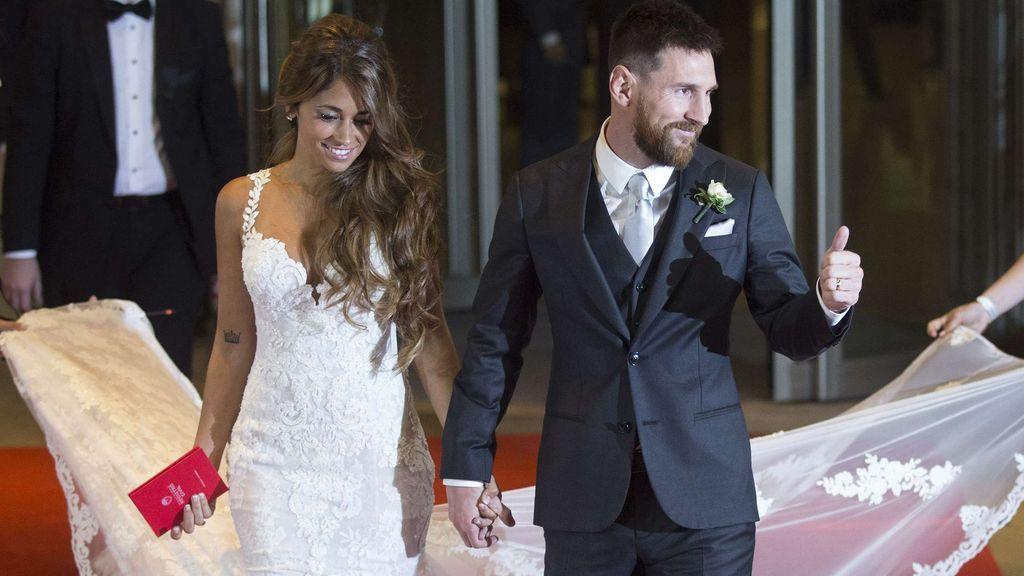 """Antonela Roccuzzo, tras ser acusada de casarse con Messi por dinero: """"Preferiría no tener que aclarar nada"""""""