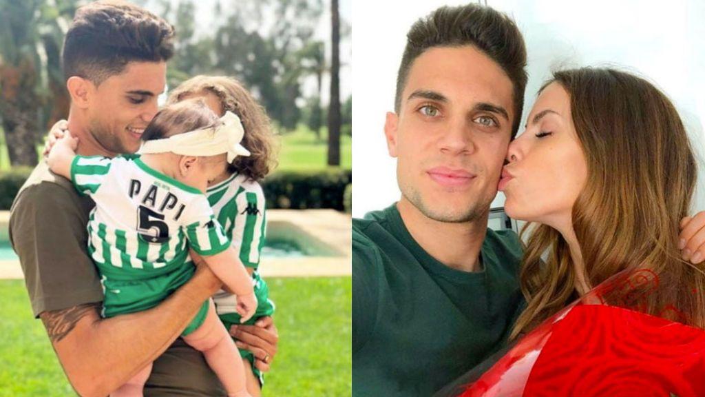 """La alegría de Marc Bartra para anunciar que será papá por tercera vez con Melissa Jiménez: """"Después de dos princesitas"""""""