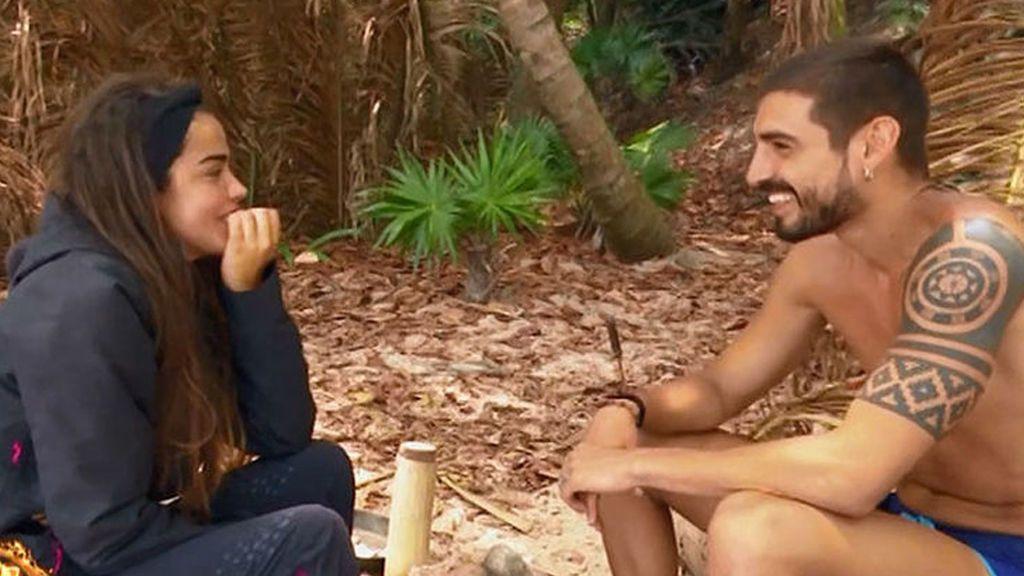 Violeta y Fabio: los acercamientos que le hicieron ver a la superviviente que no estaba enamorada de Julen