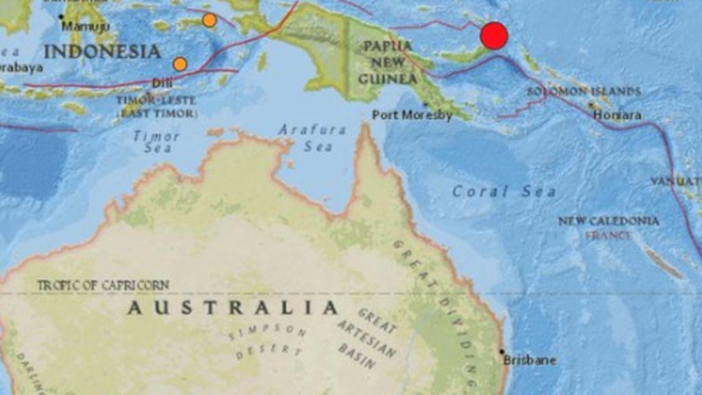 Terremoto de 7,7 en Papúa Nueva Guinea: el anillo de fuego ruge de nuevo