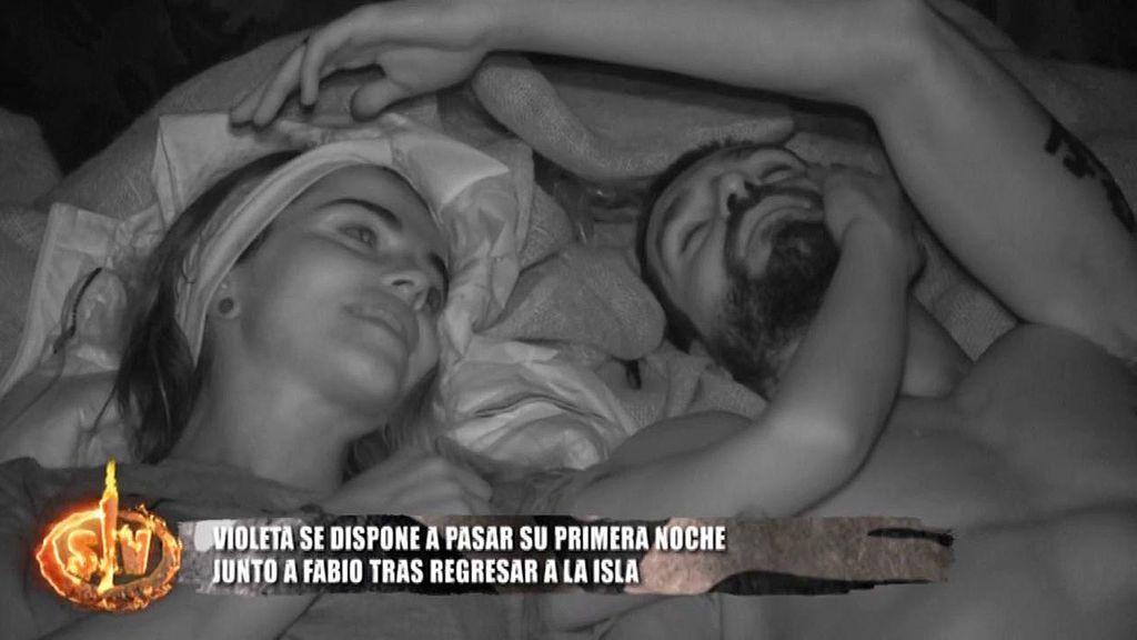 La primera noche de Fabio y Violeta tras su vuelta