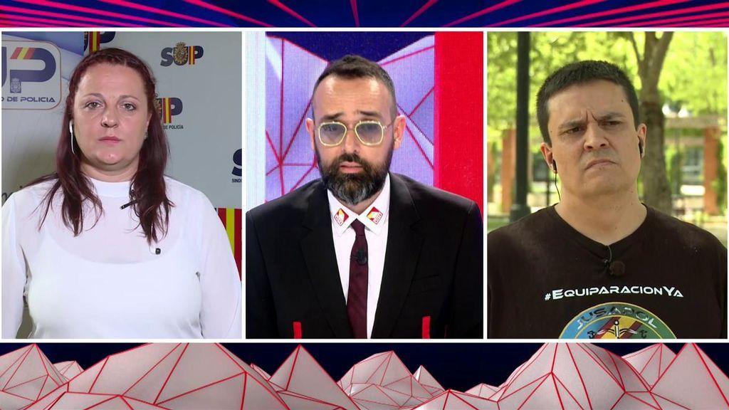 """El fuerte enfrentamiento entre Jusapol y Sup: graves acusaciones, """"insultos y faltas de respeto"""""""