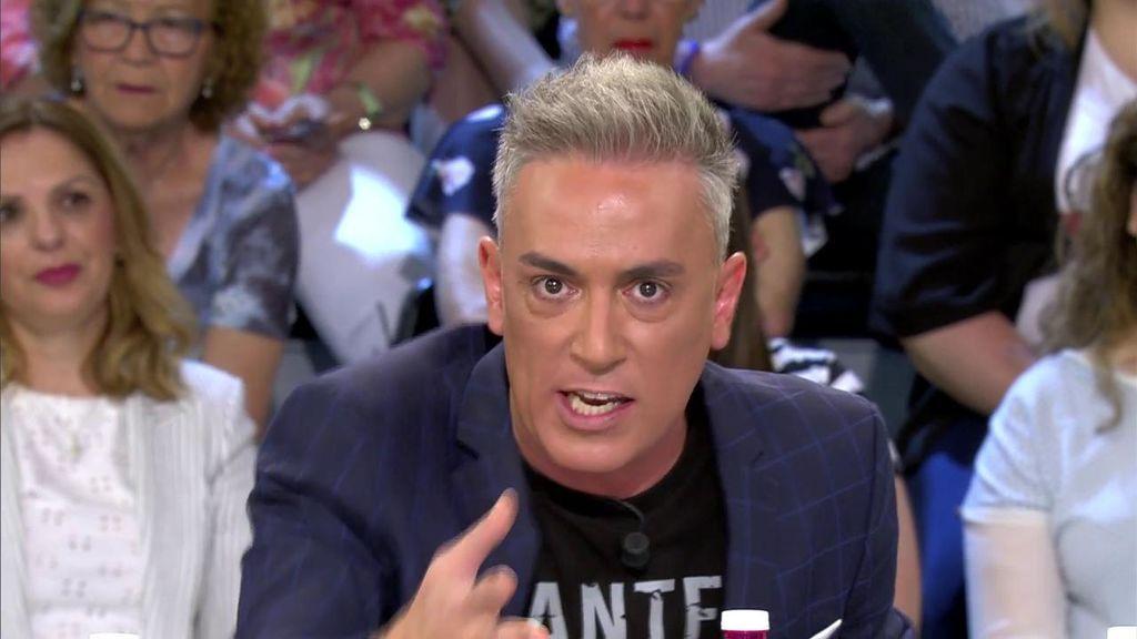 Kiko Hernández, muy crítico con Terelu
