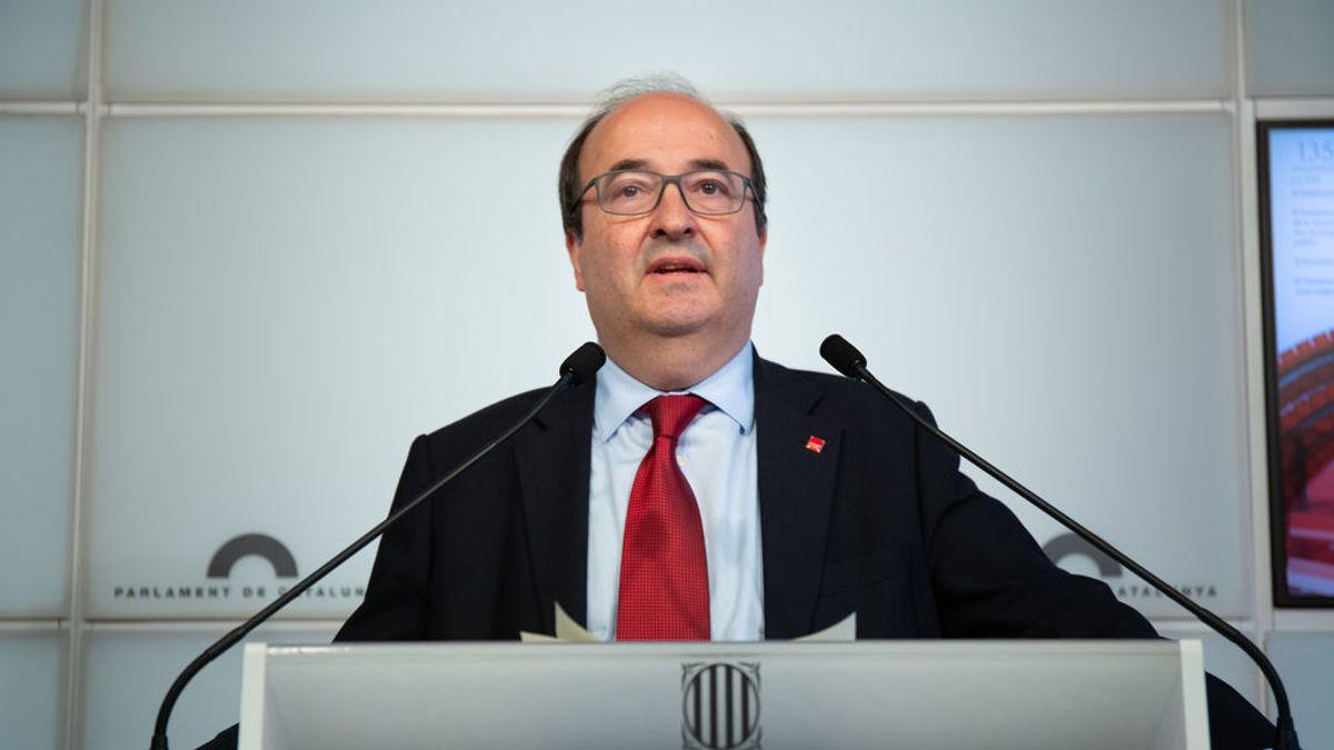 ERC también se opondrá a la designación de Iceta como senador autonómico