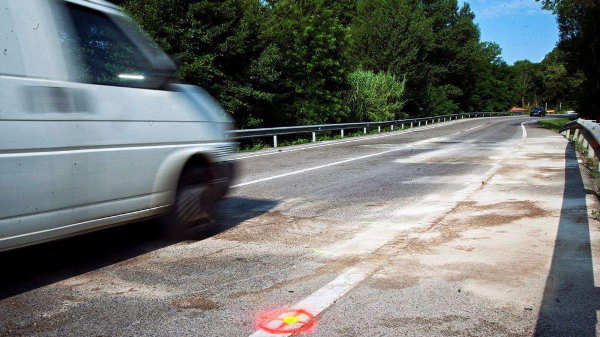 Investigan el origen de un millón de euros hallado en una furgoneta accidentada en Granada