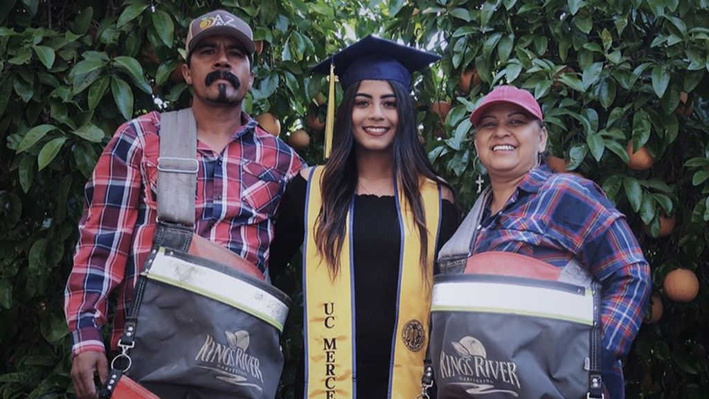 La emotiva dedicatoria de una hija de inmigrantes mexicanos en Estados Unidos