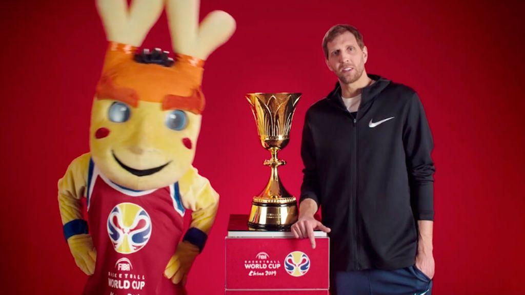 Dirk Nowitzki, embajador de la Copa del Mundo FIBA 2019