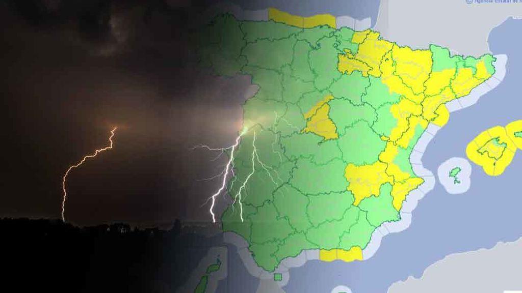 Se avecinan tormentas fuertes: te decimos dónde serán las más intensas