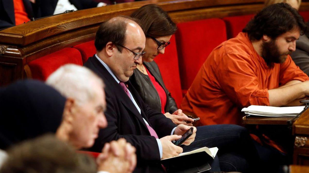 El Parlamento de Cataluña rechaza la designación de Iceta como senador autonómico