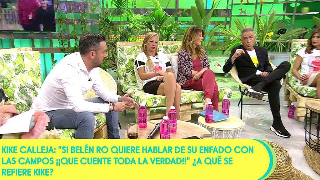 Kiko Hernández, sobre la amistad de Belén Ro y las Campos