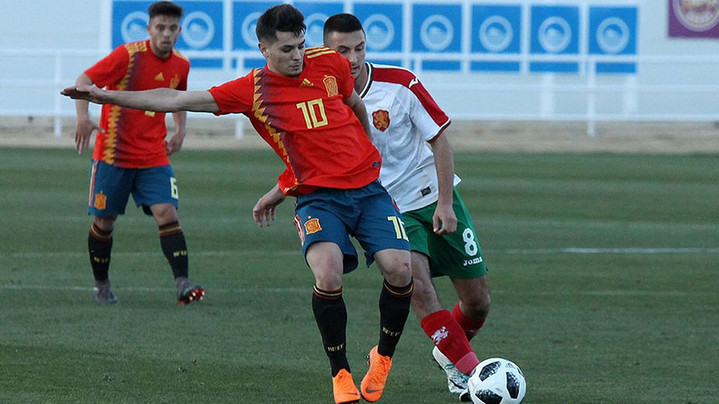 Brahim, Oyarzabal, Ceballos, Fabián... la lista completa de España para el Europeo sub-21 de Italia