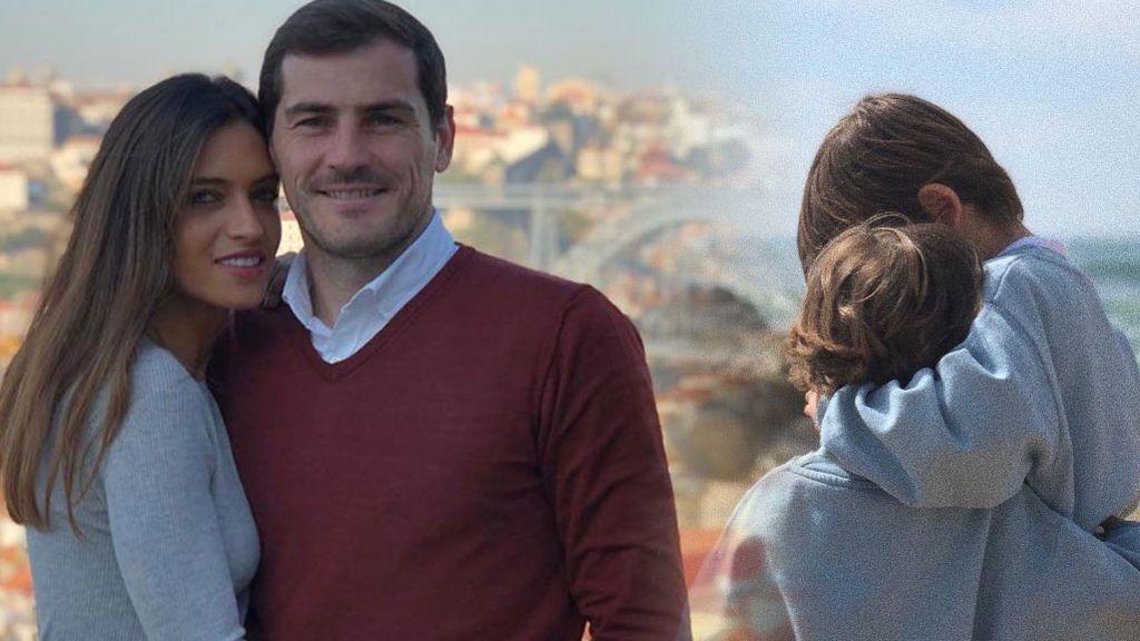 Sara, Martín, Lucas y Navalacruz: cómo es la vida familiar de Iker ahora que tendrá más tiempo para ellos