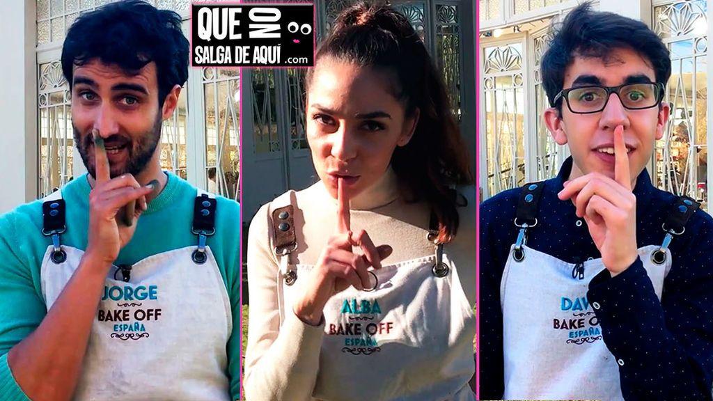 La promesa de los tres finalistas de Bake Off España antes de saber el ganador