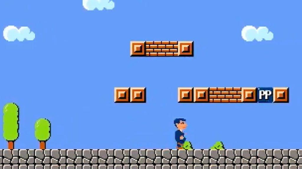El alcalde de Guadalajara hace campaña convertido en Super Mario Bros