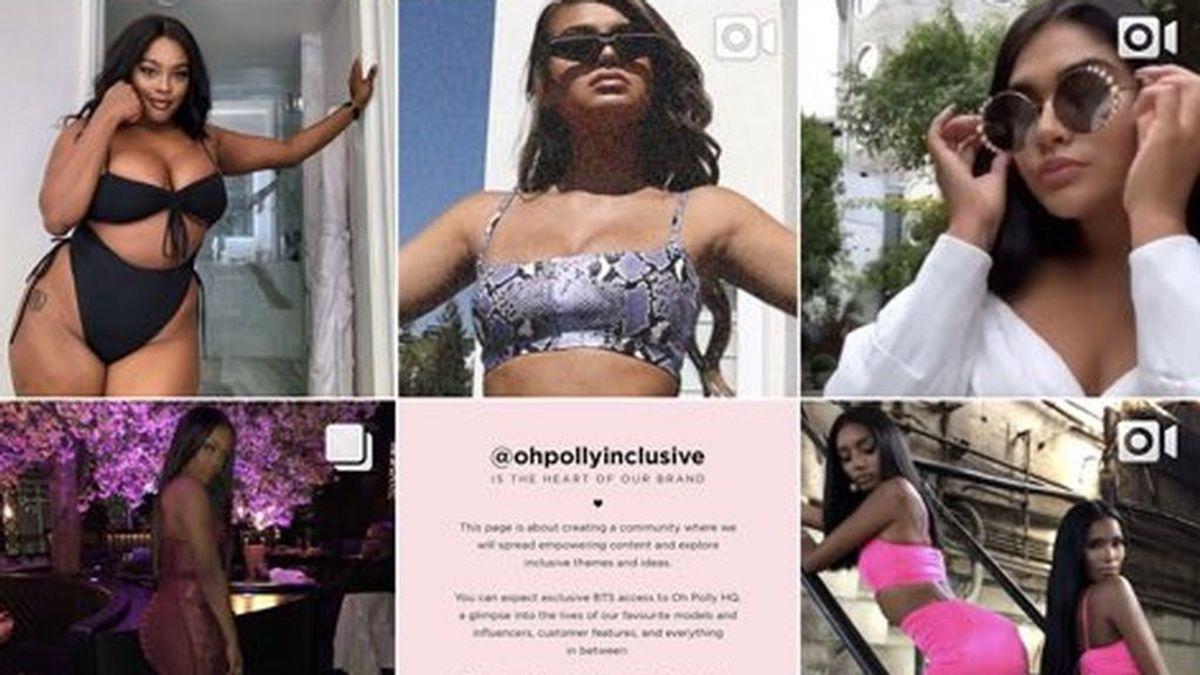 Una marca de moda pide disculpas por crear una cuenta propia en Instagram para modelos de talla grande