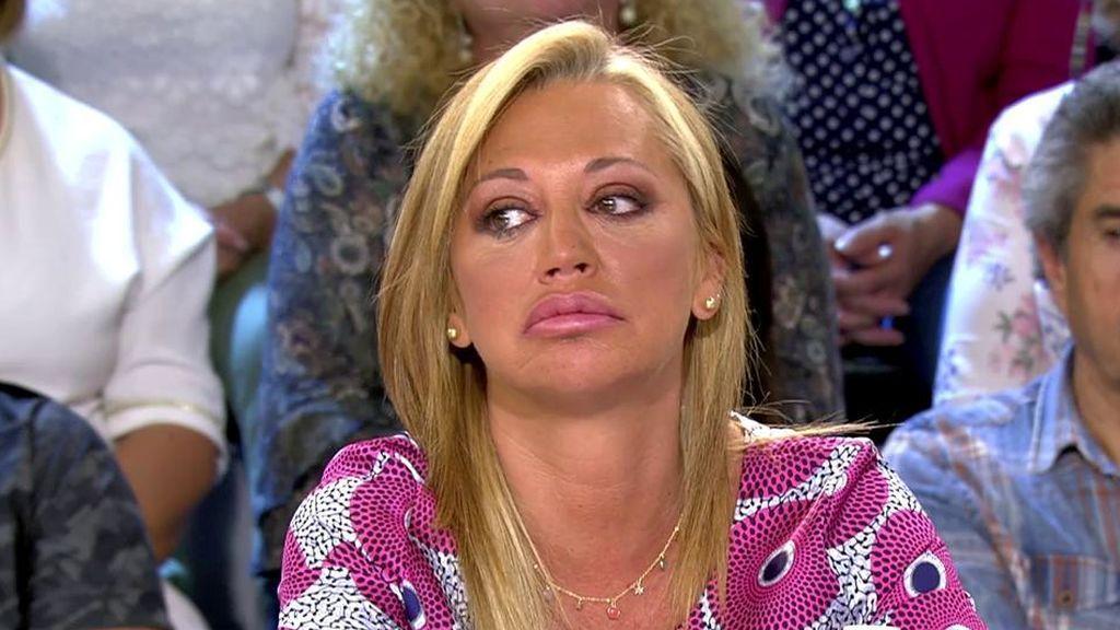 """Belén se emociona tras la marcha de Terelu: """"Me da mucha pena"""""""