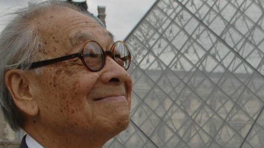 La pirámide del Louvre pierde a su creador