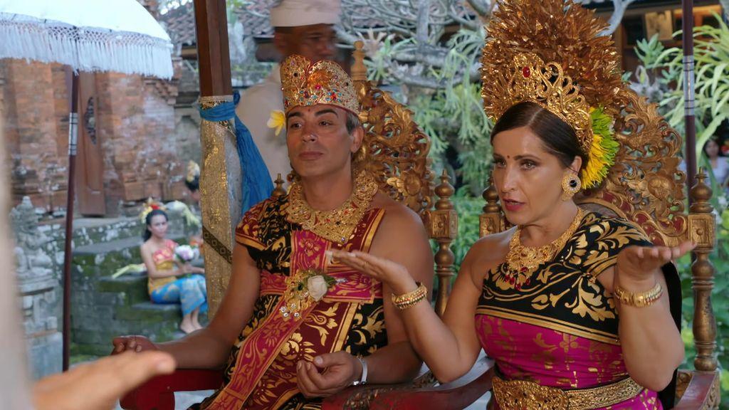 Así ha sido la gran boda balinesa de los Salazar