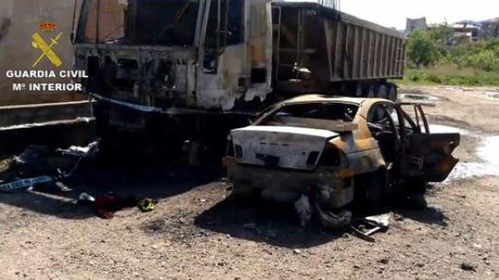 Detenido el presunto autor del incendio de un turismo, un camión y un semirremolque en Arnedo