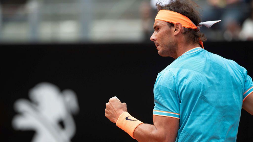 Rafa Nadal vence a Tsitsipas y se mete en la final del Masters 1.000 de Roma