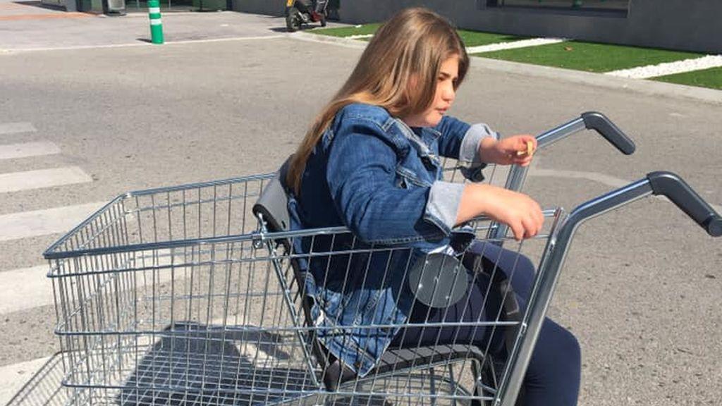El gesto de Mercadona con los niños con movilidad reducida