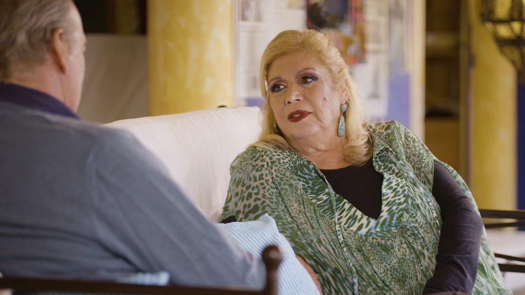María habla de su convivencia con Pepe Sancho