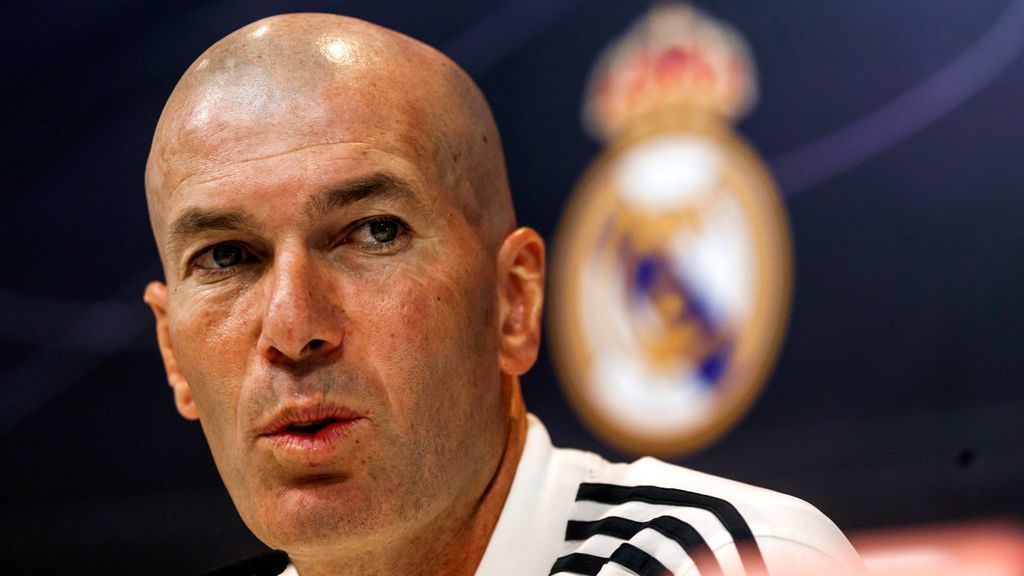 """Zidane: """"El equipo lo hago yo; si no, me marcharía"""""""