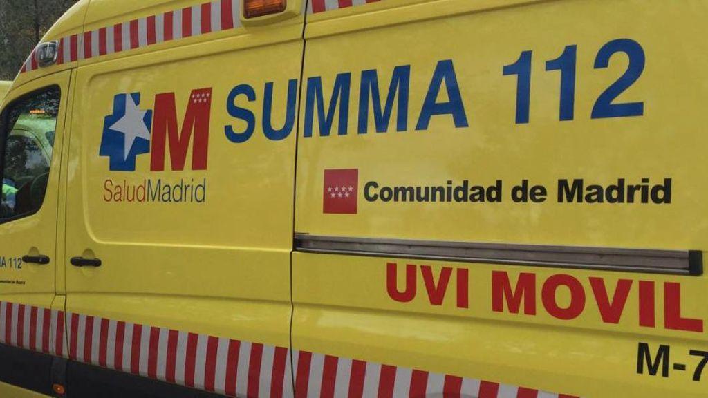 Mueren dos jóvenes y otros dos resultan heridos en un accidente en Guadarrama