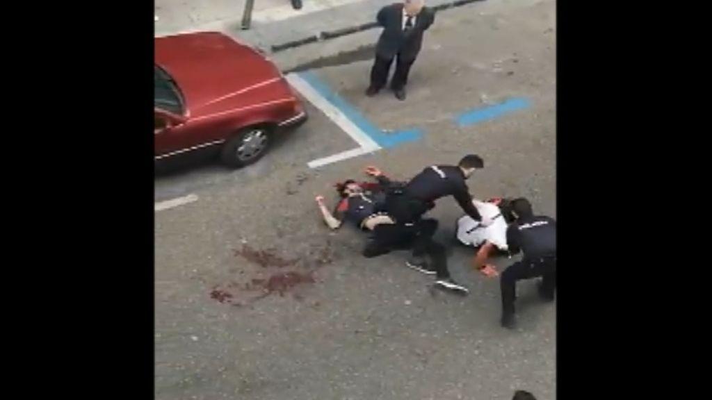 Herido en estado grave tras recibir varias puñaladas en una pelea a pleno día en Zaragoza