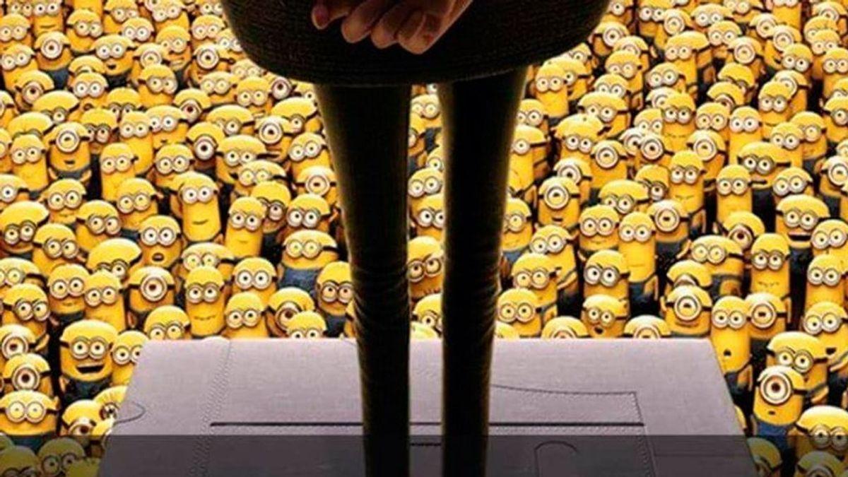 Test de agudeza visual: encuentra a Bob Esponja entre tantos minions