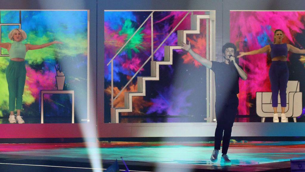 """Miki, orgulloso de su paso por Eurovisión a pesar del puesto obtenido: """"una actuación de 10"""""""