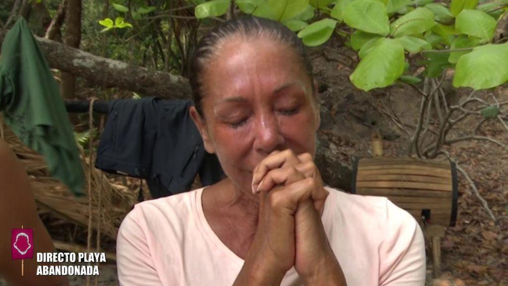 """Isabel Pantoja, a punto de abandonar 'Supervivientes': """"Mi tiempo ha terminado"""""""