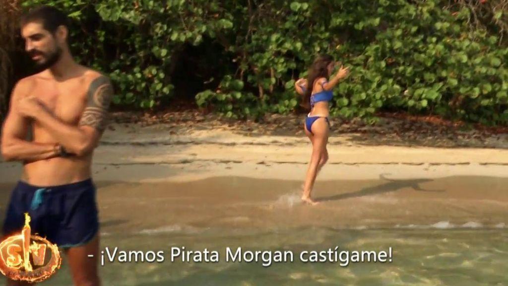 Violeta reta al Pirata Morgan y se salta las normas