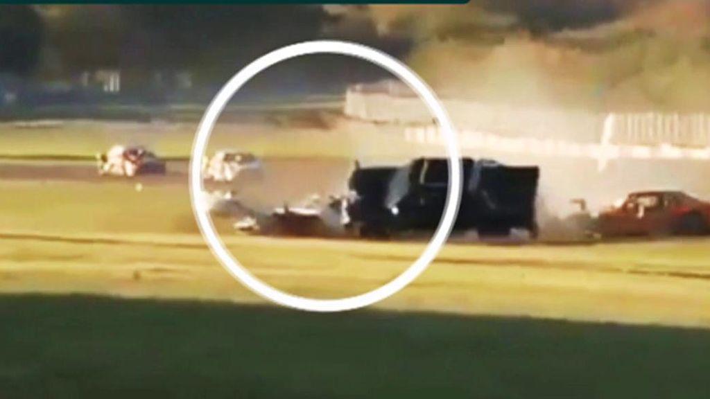 Trágico atropello en una carrera de coches en Argentina