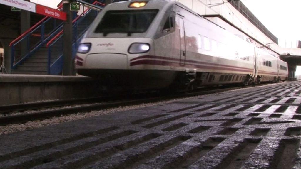 Muere arrollada por un tren tras huir de un accidente de tráfico en Madrid