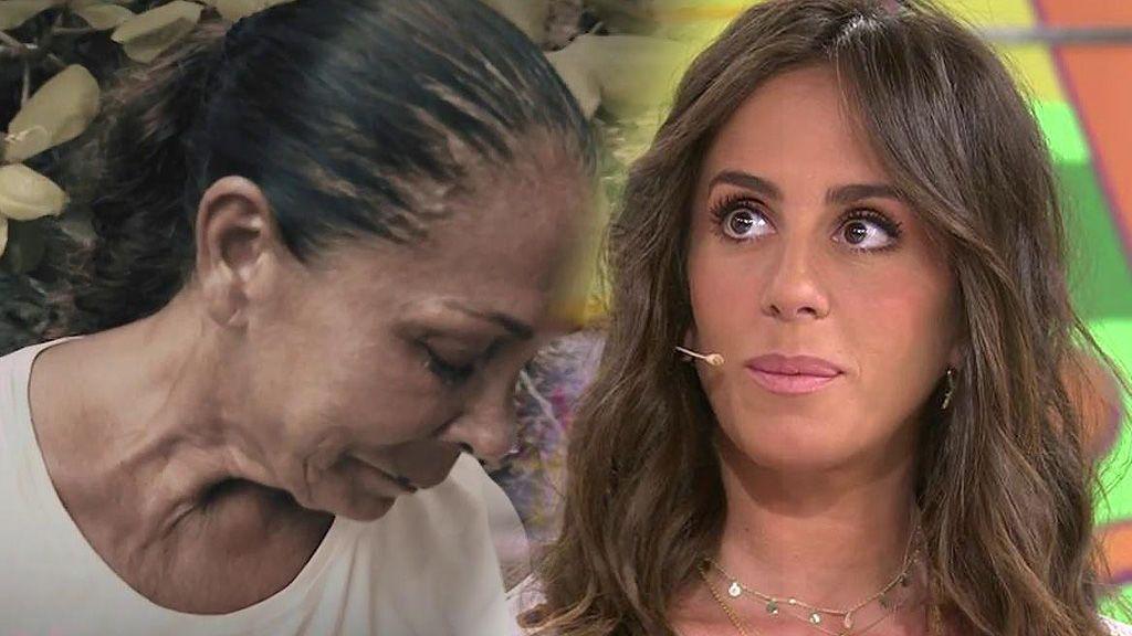 """Anabel, muy nerviosa ante el posible de abandono de Isabel Pantoja en 'Supervivientes': """"La vi fatal"""""""