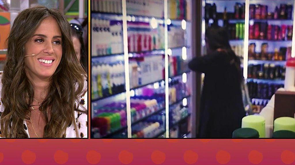 Anabel Pantoja, pilladísima: se echa desodorante en una perfumería y lo devuelve a la estantería